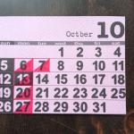 [10月1日]本日は、コーヒーの日。10月のショップスケジュールです。