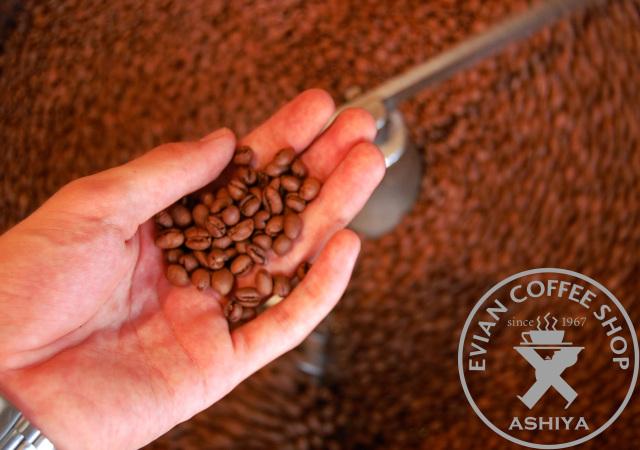 evian coffee コーヒー豆